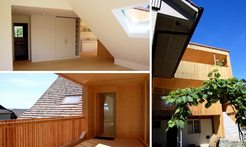 Umbau Mehrfamilienhaus Stettfurt, 2010