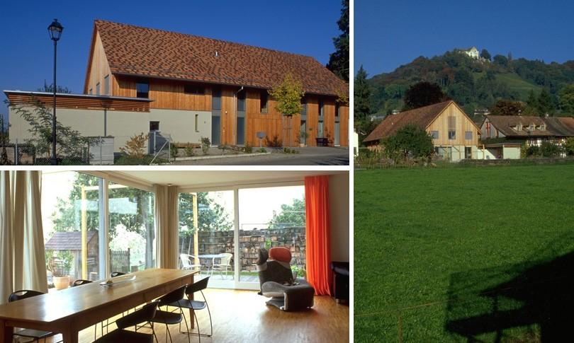 Wohnhaus mit Atelier in Stettfurt 2004